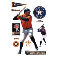 George Springer Houston Astros Fathead 11-Pack Life-Size Removable Wall Decal - No Size