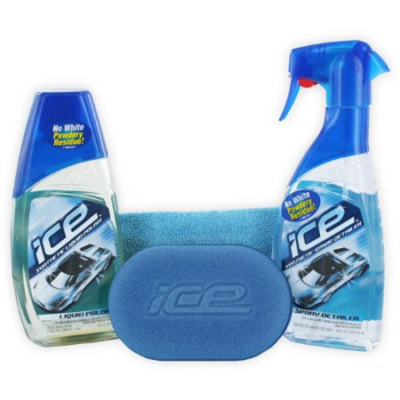 Turtle Wax Ice Synthetic Liquid Polish Spray Detailer Kit