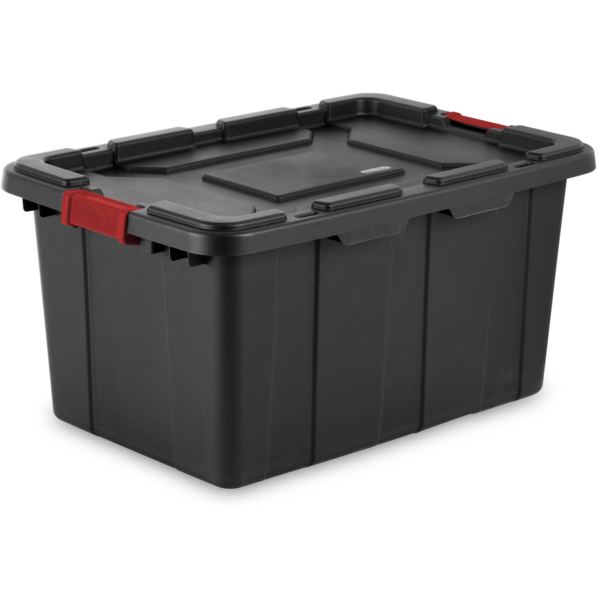 Sterilite 27 gal Industrial Tote- Black (Available in Case of 4 or Single Unit)
