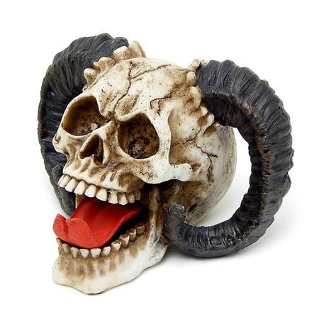 The Skull of the Horned Beast Sculpture