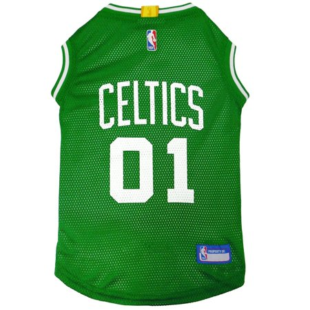 buy online 4a53d 5e304 Pets First NBA Boston Celtics Basketball Mesh Jersey for DOGS & CATS -  Licensed, Comfy Mesh