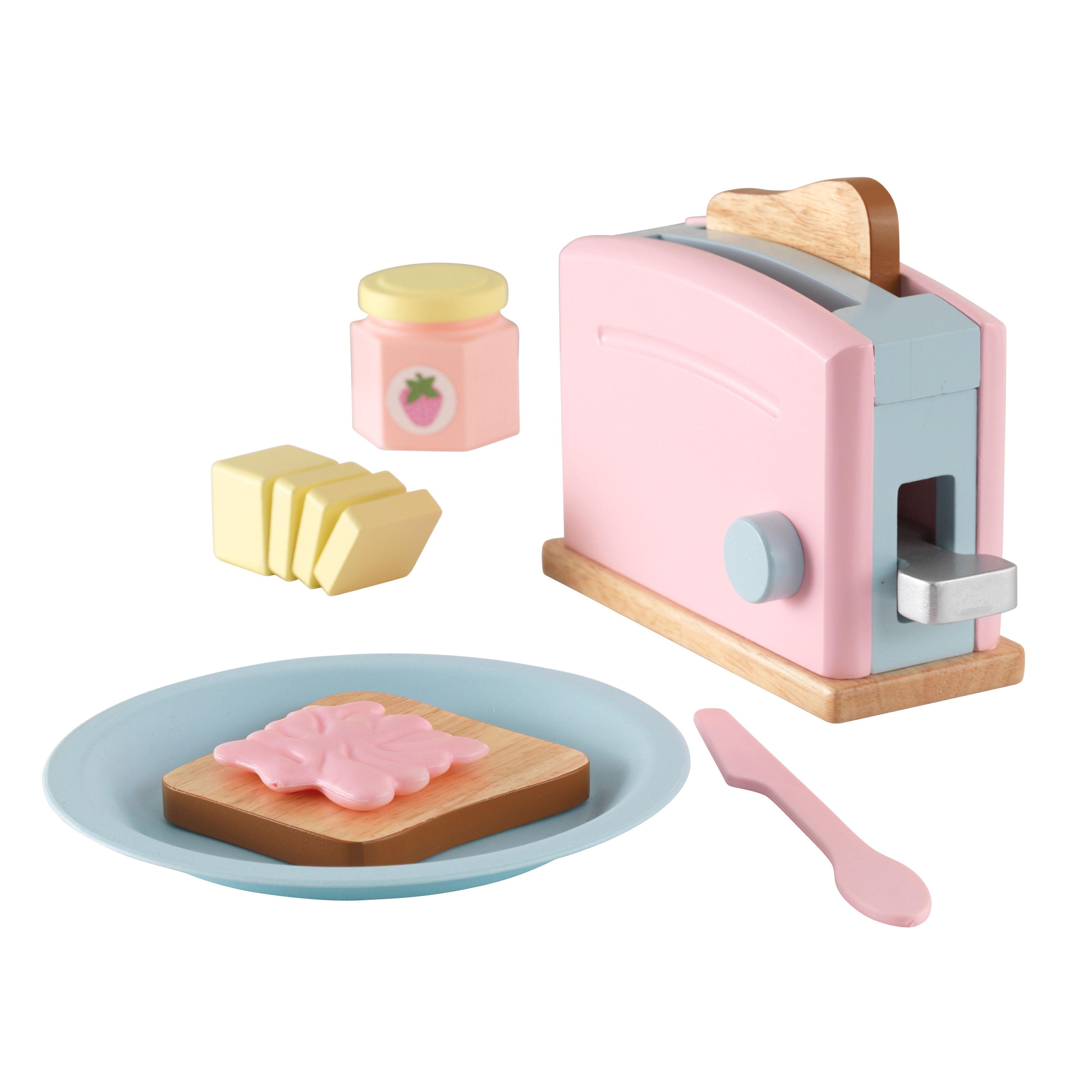 KidKraft Toaster Set Pastel by KidKraft