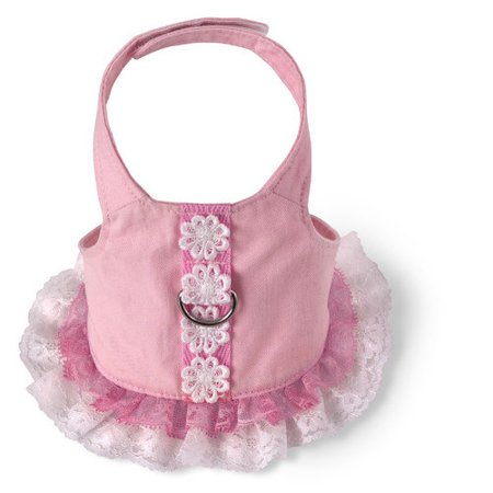 Xs Harness Dress - 615697 Harness Dress, Lace XS Harness, Pink