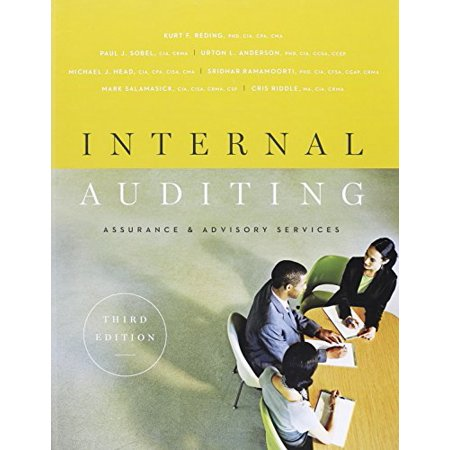 Internal auditing assurance advisory services third edition internal auditing assurance advisory services third edition 9780894137402 textbook binding fandeluxe Images
