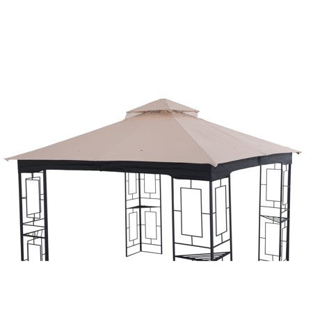 Sunjoy 10 x 10 ft. Replacement Canopy for Gazebo