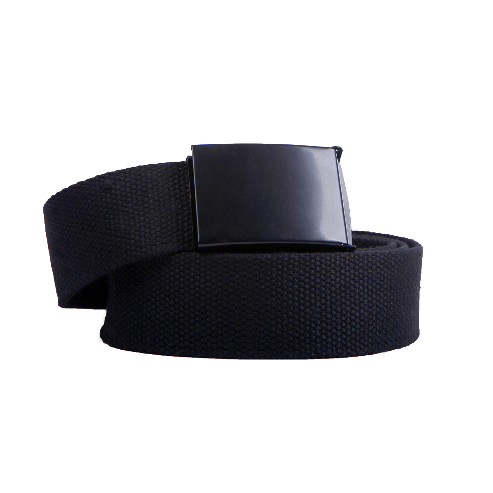 Unisex Webbing Belt Webbed Canvas Strap Metal Flip Closure Buckle Adjustable Army Style Waist Band Outdoor Utility Wear
