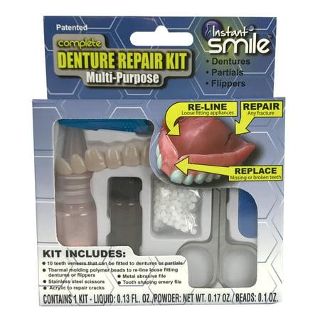 Complete Denture Repair Kit Multi-purpose with Teeth
