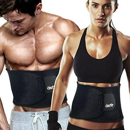 Waist Trimmer Ab Belt Extra Long Extra Wide Extra Flexible Sweat Belt - Astir (Belt With Suit)