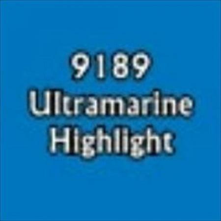 Reaper Miniatures 9189 Master Series Paint, Ultramarine Highlight