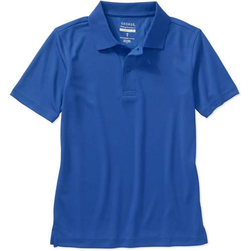 George School Uniform Boys Short Sleeve Performance Polo Shirt