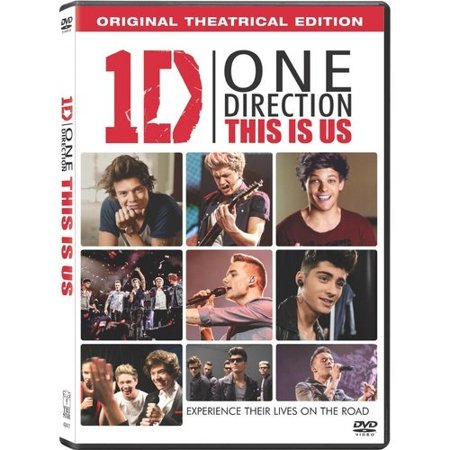 One Direction  This Is Us  Dvd   Digital Hd   With Instawatch   Widescreen