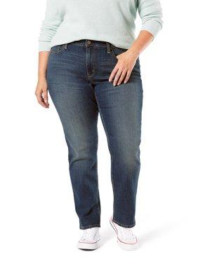 Signature by Levi Strauss & Co. Women's Plus Modern Straight Jean