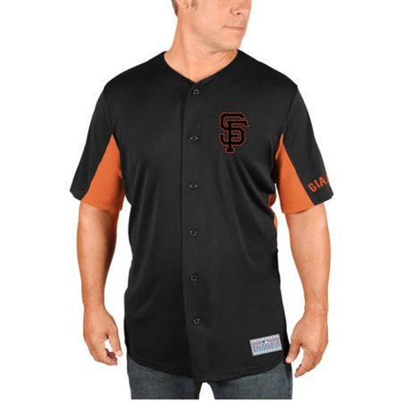 MLB San Francisco Giants Buster Posey Men's Short Sleeve Button Jersey