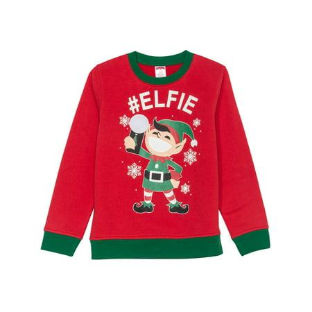 Christmas Boys (Christmas Sweater (Little Boys & Big)