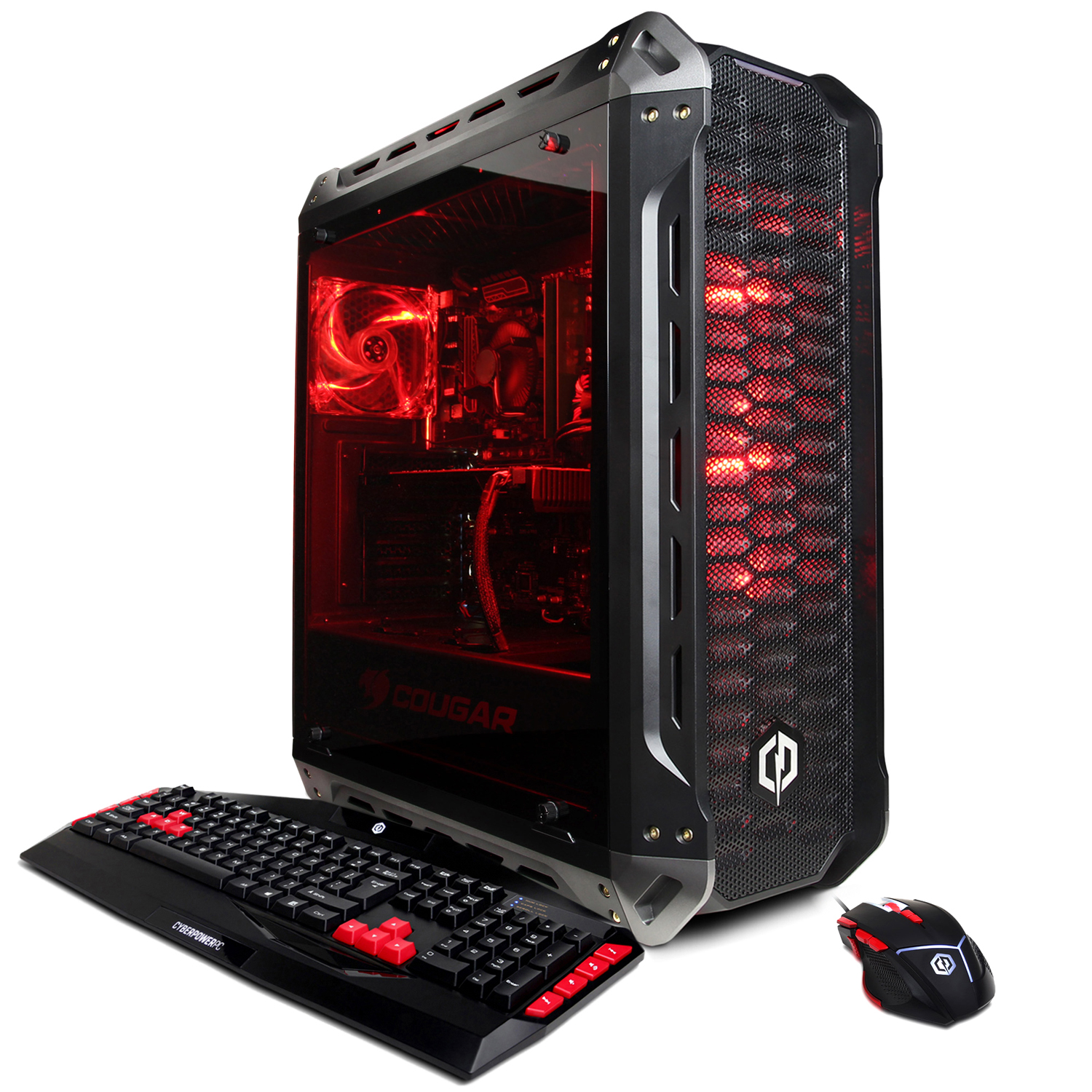 CYBERPOWERPC Gamer Xtreme GXi11020CPG w/ Intel i78700, Nvidia GeForce RTX 2060 6GB, 16GB Memory, 2TB HD and Windows 10 Home 64bit Gaming Computer