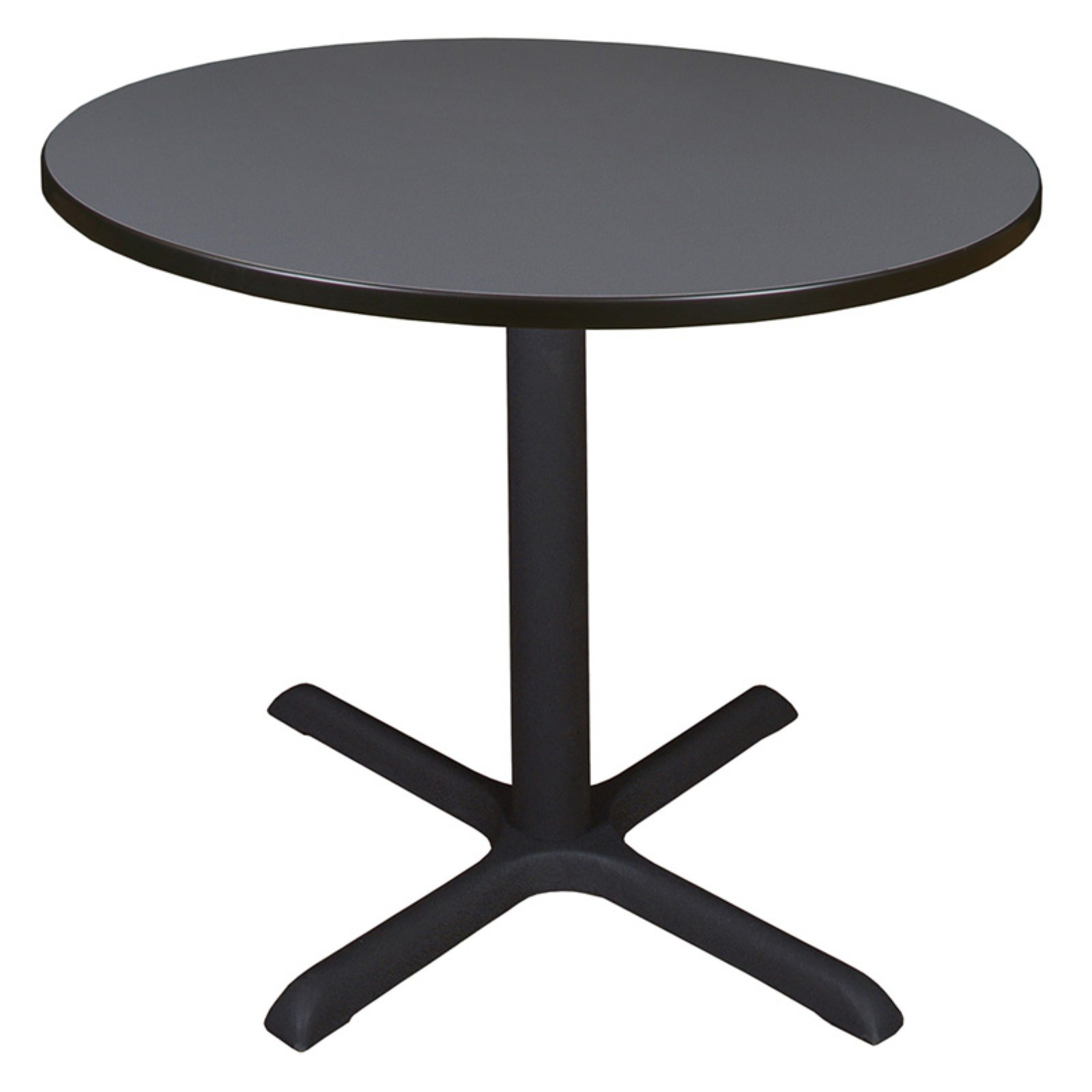 "Cain 36"" Round Breakroom Table, Multiple Colors"