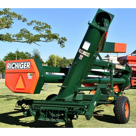 (LAMINATED POSTER Hopper Farm Equipment Grain Loader Worm Poster 24x16 Adhesive Decal)
