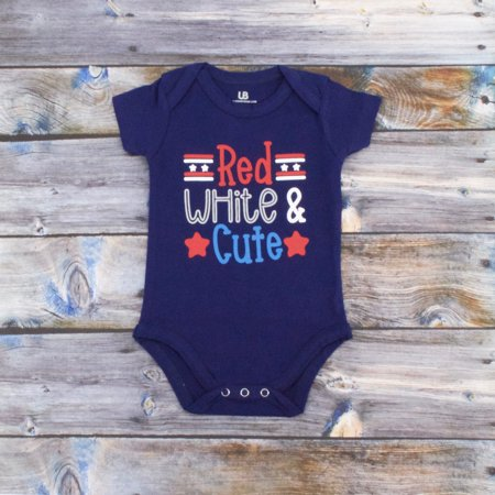 Independence Set (Girls Red, White & Cute 1st 4th of July Layette Set (18)