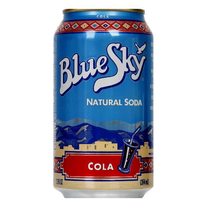 BLUE SKY SODA 6PK NAT COLA