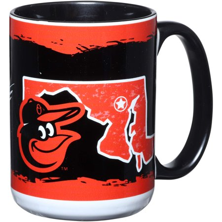 Baltimore Orioles 15oz. It's Your State Of Mind Mug - No
