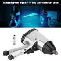 Anauto 1/2  Air Pneumatic Impact Wrench Gun Power Drive Removal & Installation Tools W/ US Adapter, Pneumatic Wrench Gun, Impact Wrench Gun