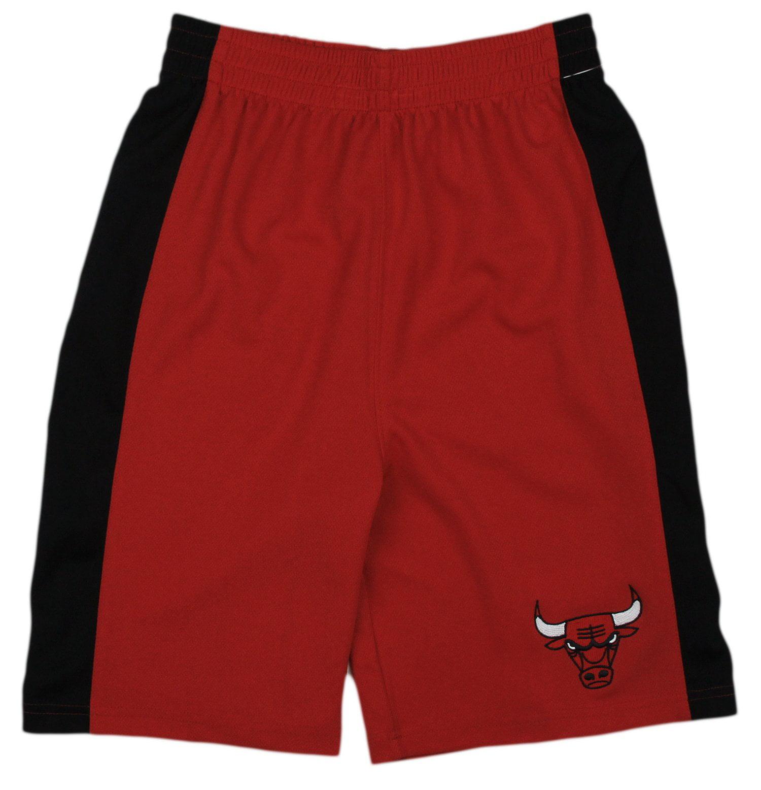 NBA Basketball Kids / Youth Chicago Bulls Team Shorts - Red