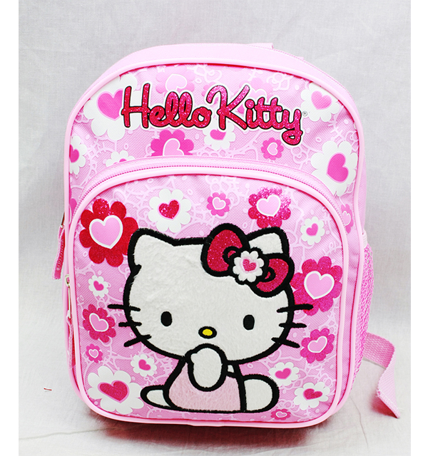 Mini Backpack Hello Kitty Pink Flower Bow New School Bag 84022 by GDC