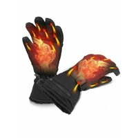 Heated Gloves Rechargeable Battery Powered Touchscreen Winter Warm Gloves