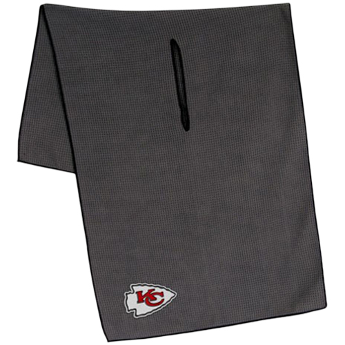 "Kansas City Chiefs 19"" x 41"" Gray Microfiber Towel - No Size"