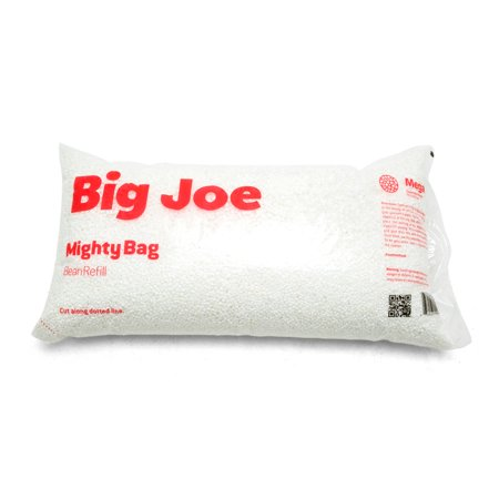 Big Joe Megahh Bean Refill, 100 Liter Single Pack Duke Bean Bag