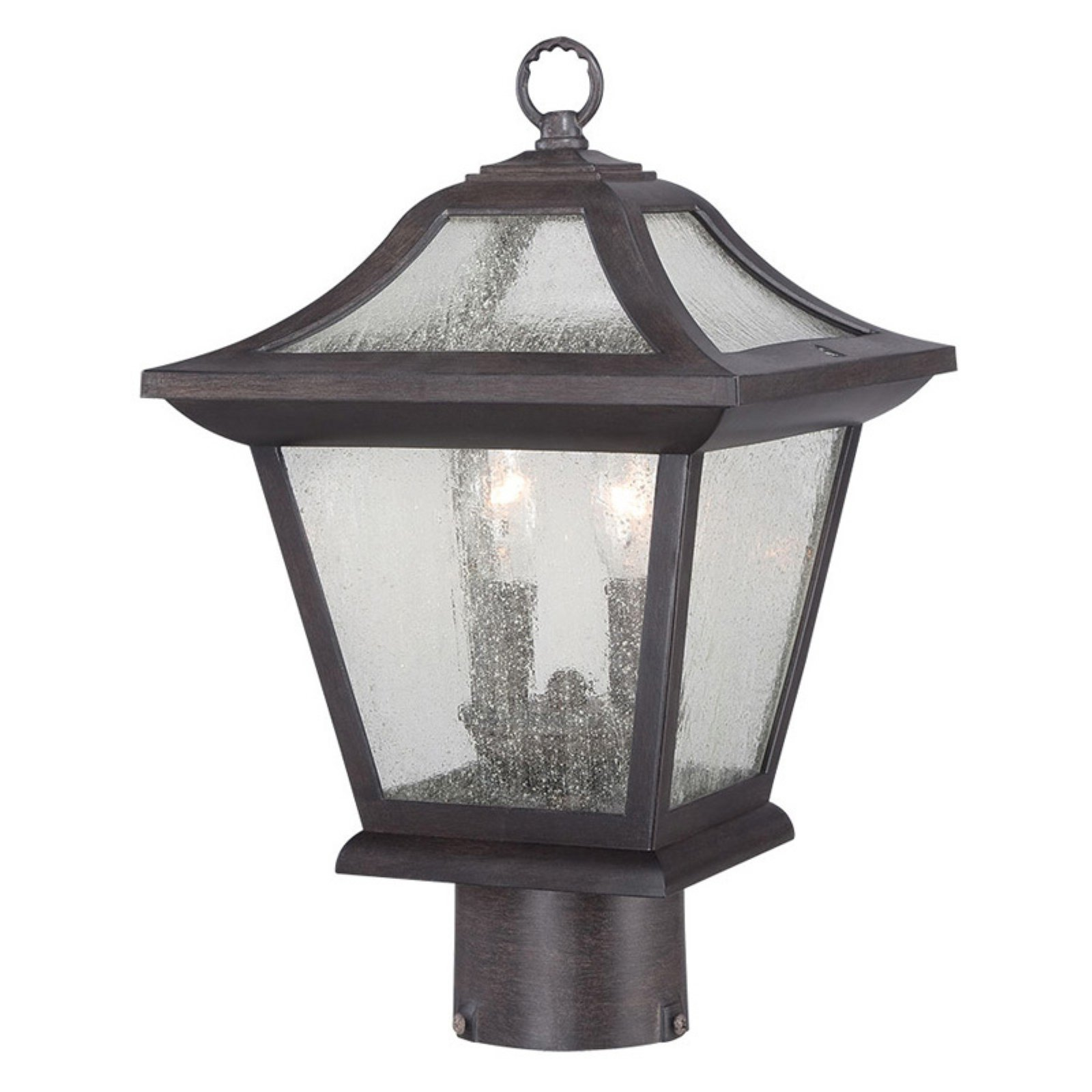 Image of Acclaim Lighting Aiken Outdoor Post Lantern Light Fixture