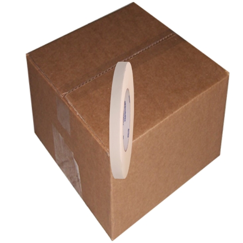 Intertape 591 Double Coated Flatback Paper Tape 1/2 inch x 36  yards 72 Roll Case