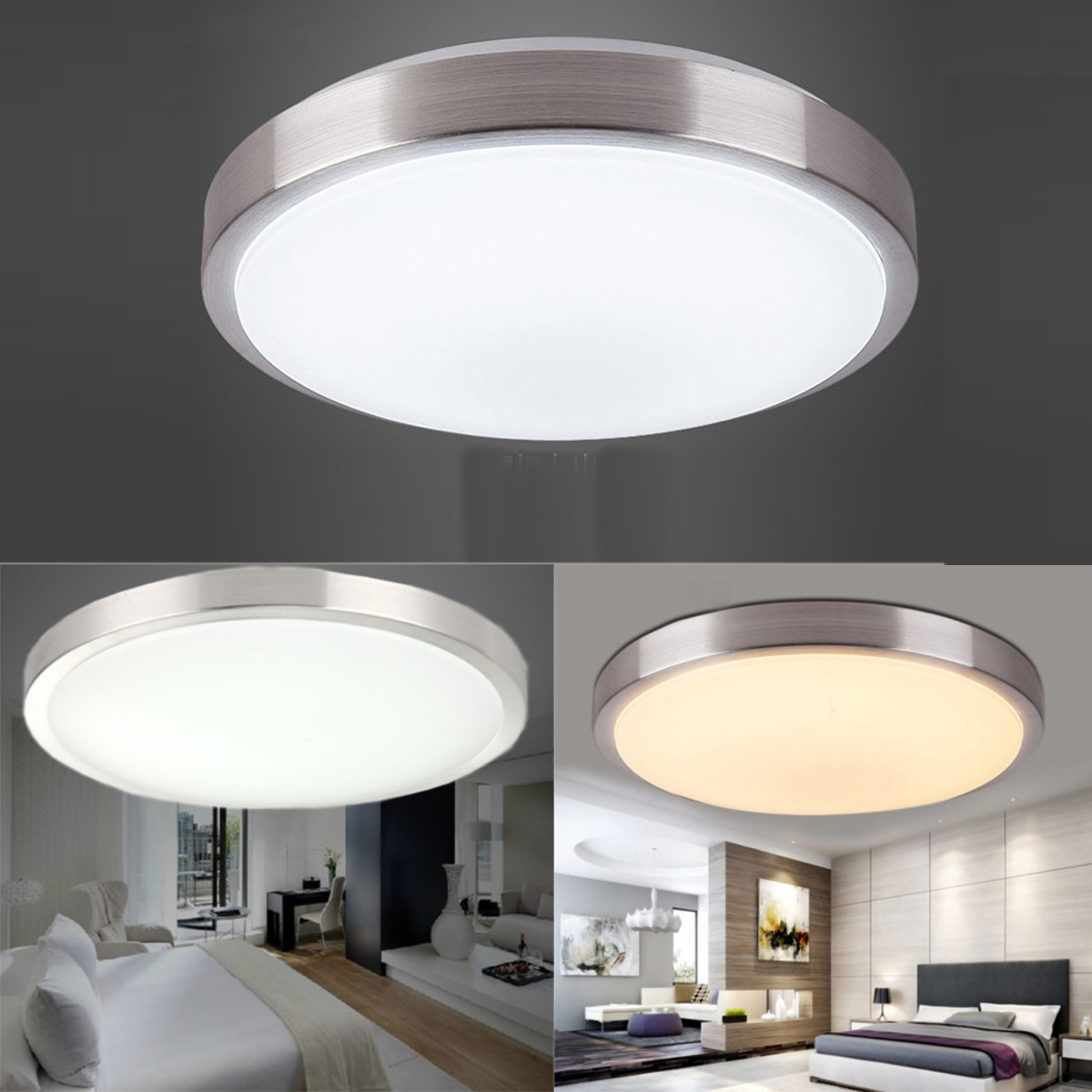 Asewin LED Ceiling Lights,Modern LED Ultraslim Ceiling Down Light ...