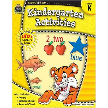 Ready-Set-Learn: Kindergarten - Kindergarten Halloween Activities