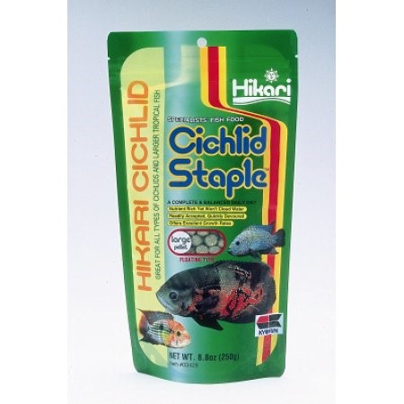 Hikari Cichlid Staple Large Pellet Fish Food, 8.8 Oz