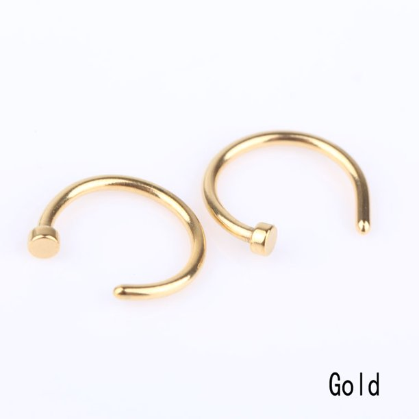 Akoada Akoada Body Piercing Jewelry Nail Nail Stainless Steel