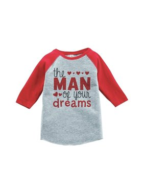 Custom Party Shop Boy's Valentine's Day Toddler Vintage Baseball Tee - Red / Medium Youth (10-12) T-shirt