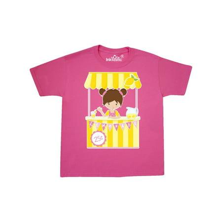 fee7b0b0 Inktastic - Girl with a Lemonade Stand Youth T-Shirt - Walmart.com