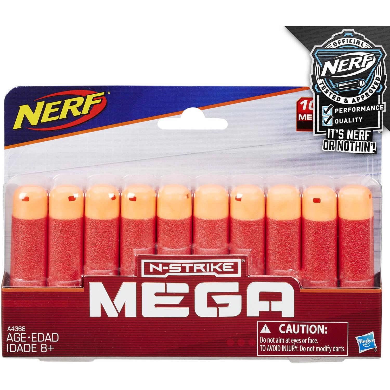 Nerf N-Strike Mega Dart Refill (10 pack) by Hasbro