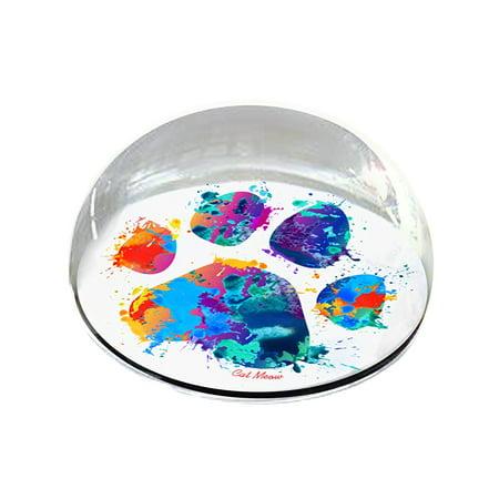 Forever Crystal 'Pet Paint Paw' Pet Memorial (Crystal Pad)