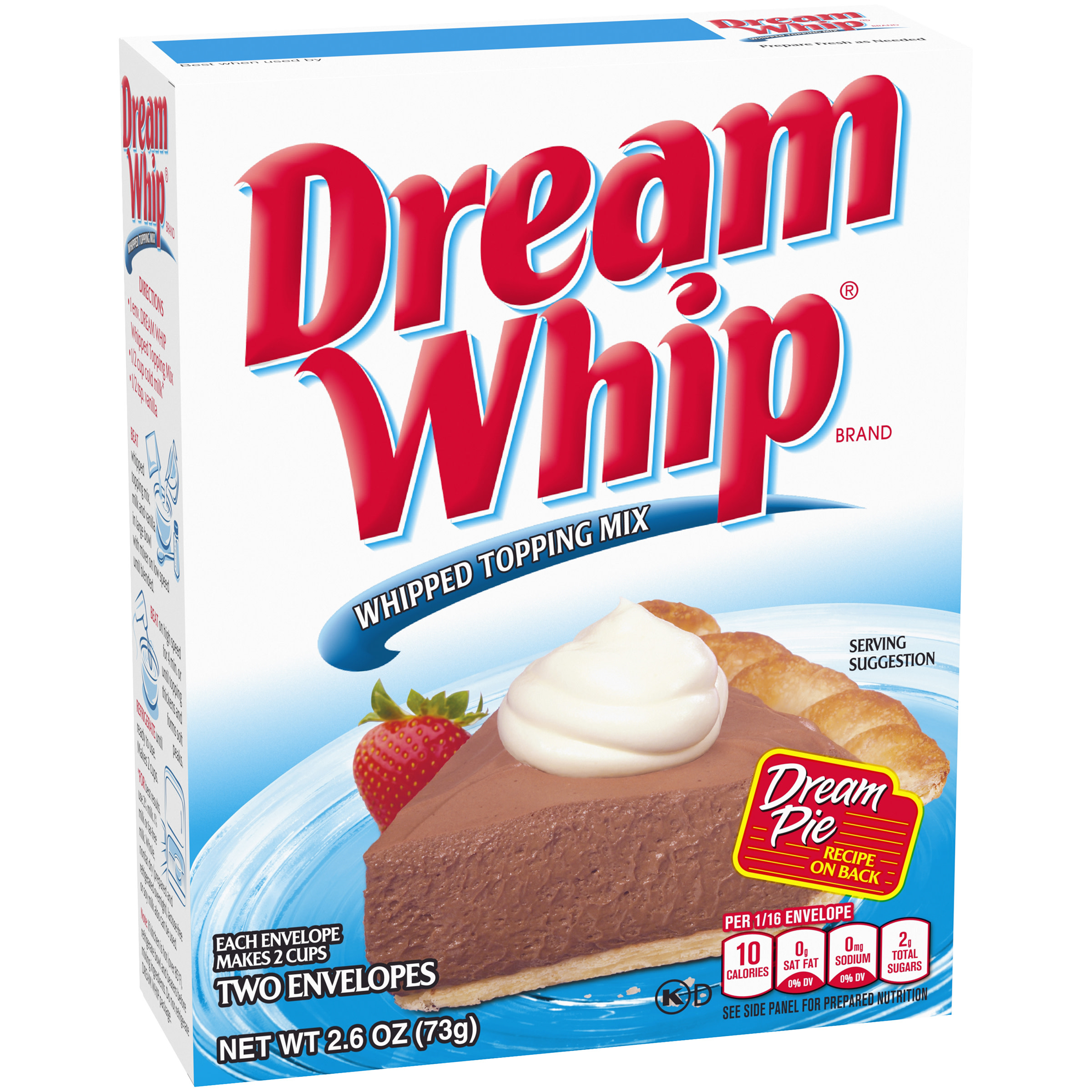 Dream Whip Whipped Topping Mix 2 Ct Packets Walmart Com Walmart Com