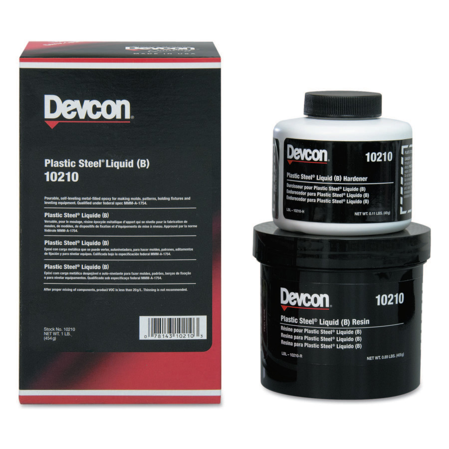 DEVCON 1-LB PLASTIC STEELLIQUID (B)
