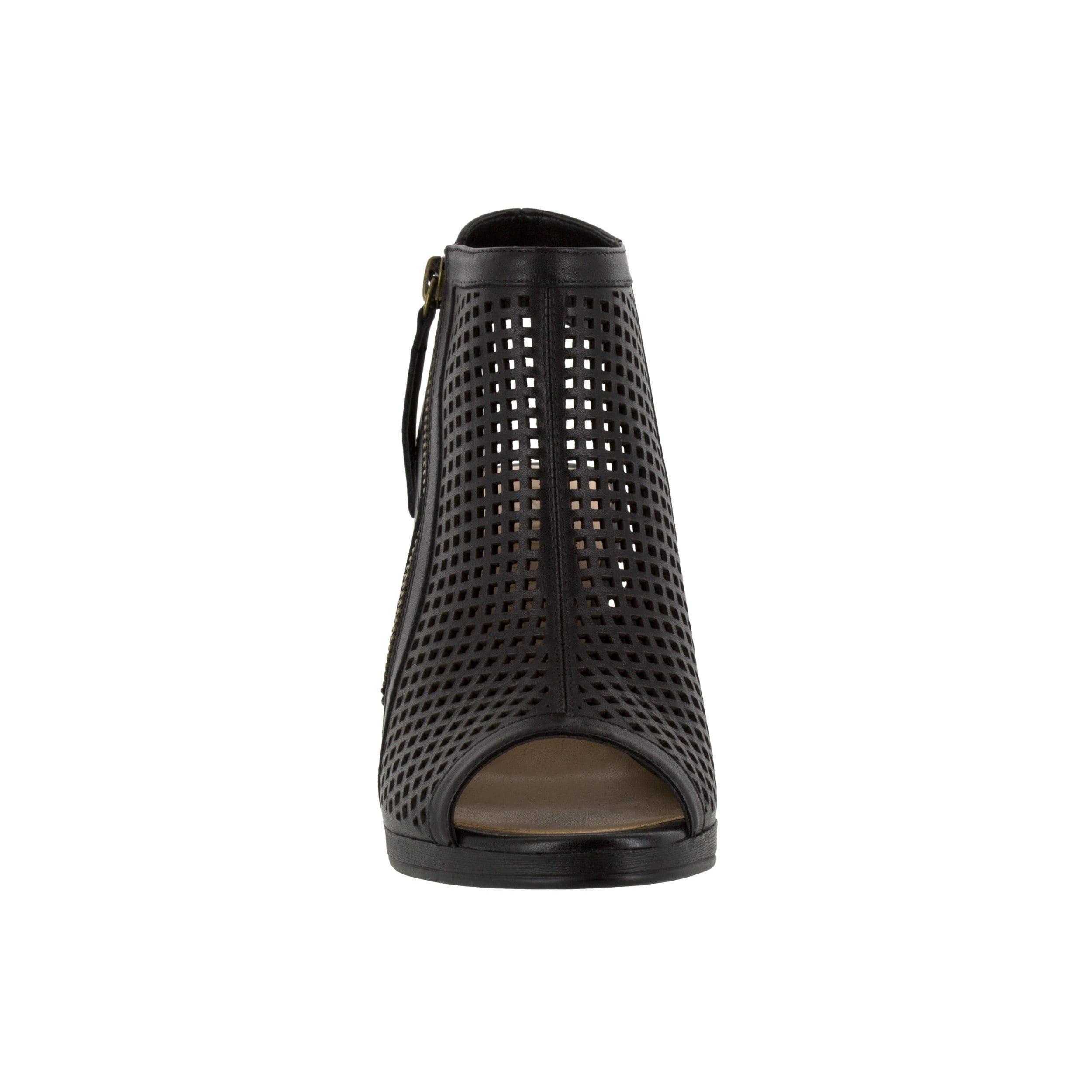 Bella Vita Lenore Women's Black Sandals by Overstock