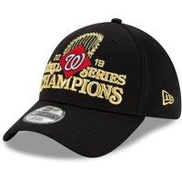 Washington Nationals New Era 2019 World Series Champions Locker Room 39THIRTY Flex Hat - Black