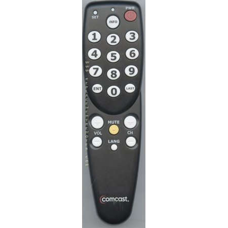 COMCAST 3167BC0R Jumbo (p/n: 3167BC0R) Digital TV Tuner Converter Box Remote Control (new)