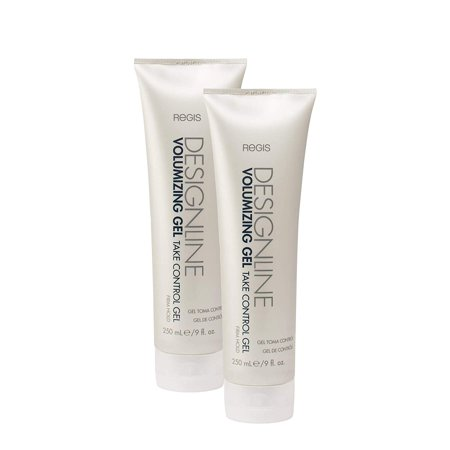 Control Gel - Regis DESIGNLINE - Heat Activated Formula Delivers Body, Volume and Bounce with a Shiny and Silky Finish, Extends the Life of Blowouts (2 Pack) (Electronic Volume Control)