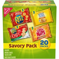 Nabisco Savory Variety Cracker Pack, 18.75 oz, 20 Count