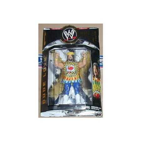 WWE Classic Series 2 Dude Love Yellow Wrist Bands Wrestling Figure - Wwe Wristbands