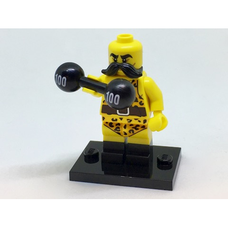 LEGO Collectible Series 17 Circus Strong Man Minifigure - Complete Set