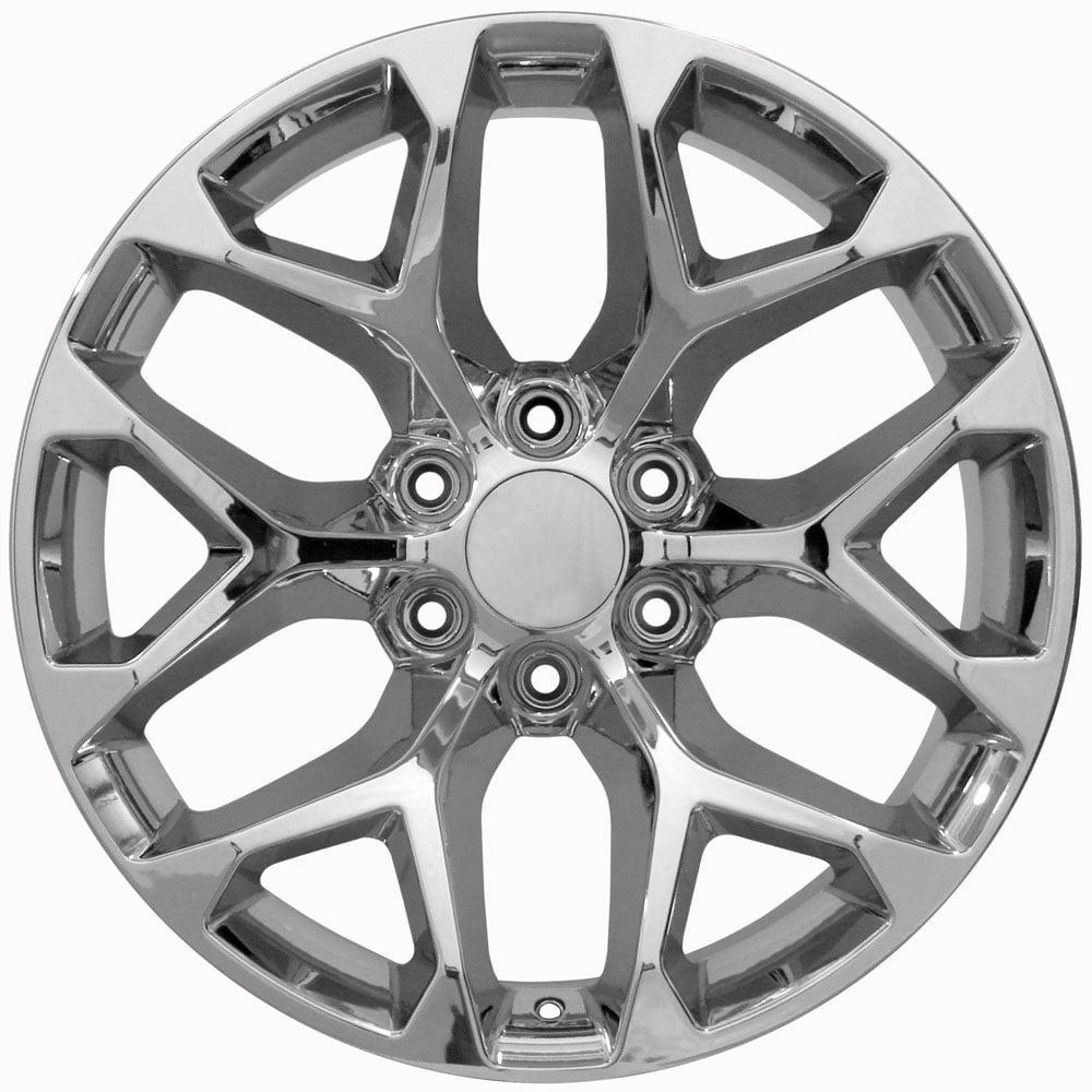 Oe Wheels 22 Inch Snowflake
